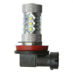 H11 10W 16 Cree LED High Power Bil Tågelygte DRL Kørsel Running Lys Bulb