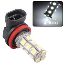 H11 18 LED SMD Xenon-vit Lampa 12V Lampa Bil Dimljus