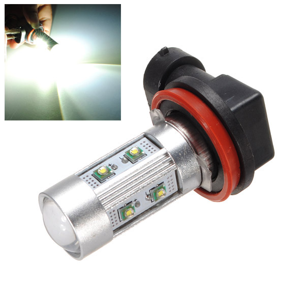H11 LED SMD CREE 50W Auto Lampen Birnen Nebel Licht Lumière Phare 12V Weiß Autobeleuchtung