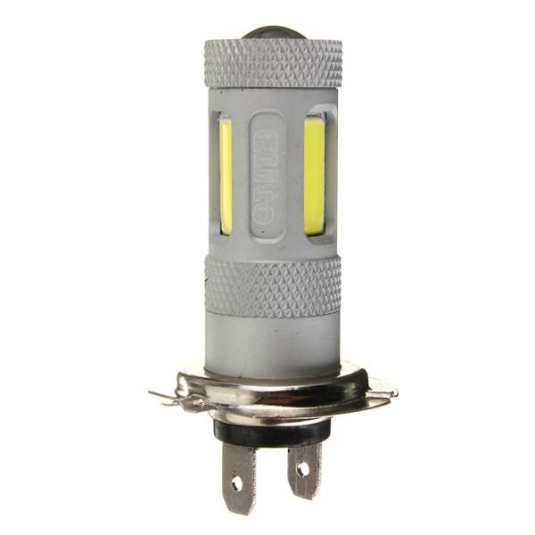 H7 80W Cree LED Bil Dimma Baklykta Helljus DRL Bulb Xenon Vit Bilbelysning