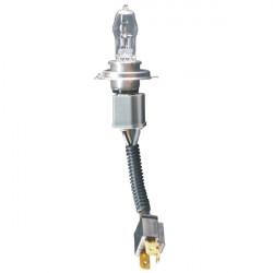 HOD H4 100W 2500lm 4200K White Light Xenon Car Lamp (12V)