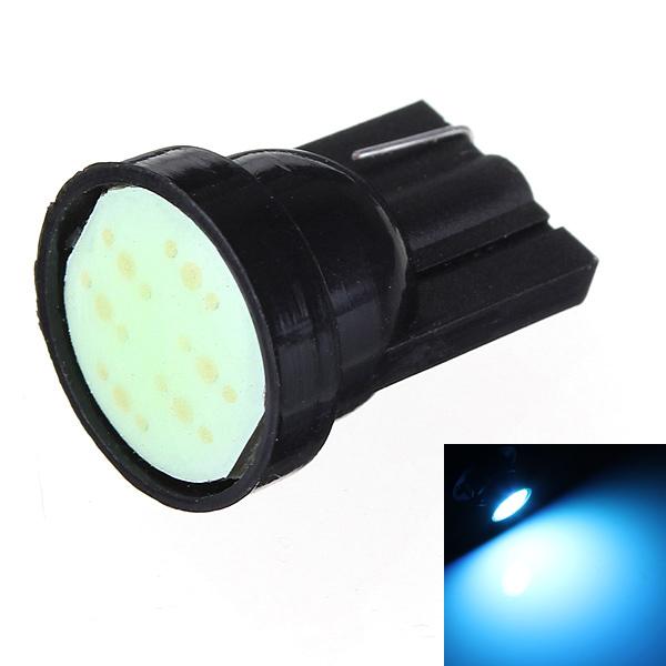Eis Blau 1 LED COB SMD T10 W5W Wedge Seiten Auto Glühlampe Autobeleuchtung