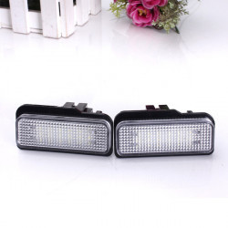 LED Number Skyltbelysning Ljus For Benz E-Class S211/W211 00-07