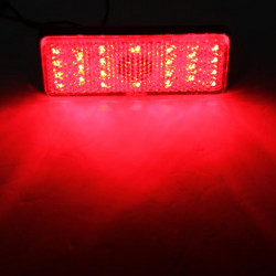 LED Reflector Tail Brake Stop Marker Light Truck Trailer RV Motorcycle