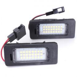 Skylt Lamp LED Vit Ljus för Audi A4 A5 Q5 S5 TT 08-13