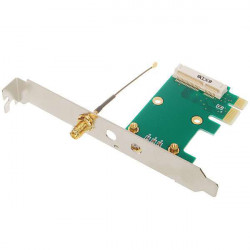 New Mini PCI-Express to PCI-Express Adapter Card with 2dBi Antenna