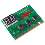 New PC Motherboard Repair/Troubleshoot Boot-Failure Diagnostic PCI Card Car Lights