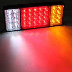 Pair 36Led Rear Stop Reverse Tail Lights for Truck Ute Trailer Car