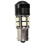 Pure Vit 1156 10W LED Lampa för Turn Ljus Bilbelysning