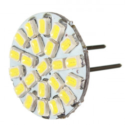 Pure White G4 1206 22SMD Led Light Bulb for All Make Car Wide-usage