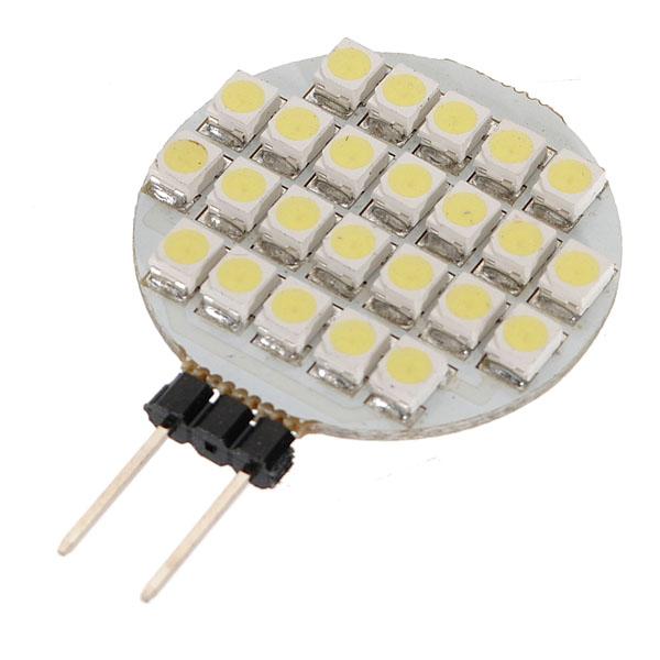 Pure White G4 24 SMD LED Schifffahrt Lampen Licht Auto Birnen 12V Autobeleuchtung