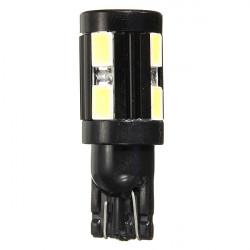 Pure White T10 5730 10SMD 1.5W Led Lampe für alle Make Cars