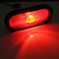 Red verschlossenen Anhänger LKW Rücklicht hinteren Anschlag drehen Lampe eingegossenes Kabel Zopf