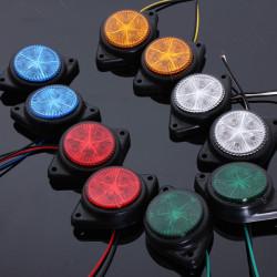 Side Marker LED-lampor Signallampor för Van Bil Truck Trailer 12V
