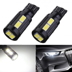 T10 168 194 10 SMD 5730 LED Xenon Ultra White Turn Tail Light Bulb