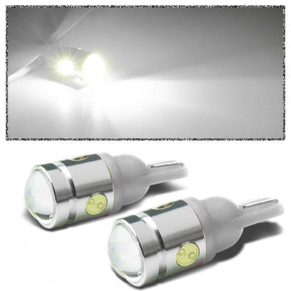 T10 194 168 W5W 2.5W 4-SMD LED Bil LED-belysning Sid Wedge Lampa 12V Bilbelysning