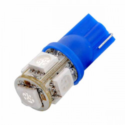 T10 194 168 W5W 5 SMD Auto Seiten Keil LED Light Blue