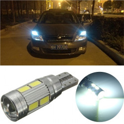 T10 5360 W5W 10SMD Error Free Car Super Bright Width Light