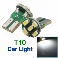 T10 Parker 2825 1206 5 LED Bil Wedge SMD Lampa Ljus Lampa 12V