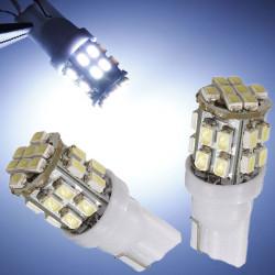 T10 W5W 194 147 24 SMD 1206 3020 LED Bil Signal Sid Ljus Bulb