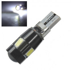 T10 W5W Bulb 5630 High Power 6 SMD 6500K Canbus LED Light Lamp