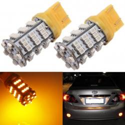 T20 3528 SMD 54 LED Amber Gul Turn Signal Blinker