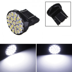 T25 1206 3156 22 SMD Vit LED Bil Tail Brake Ljus Stop Turn Ljus