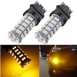 T25 3157 68 SMD 3528 LED Car Stop Tail Brake Light Bulb DC 12V