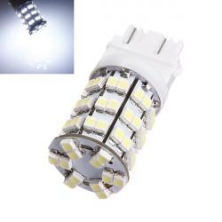 T25 60 SMD 3528 LED DRL Lampa 6000K HID Xenon Vit 300LM