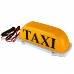 Taxi Cab Top Waterproof LampMagnetic Car Vehicle Indicator Lights Car Lights