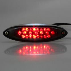 Universal Motorcycle Bike ATV 28 LED Bromsljus Skyltbelysning Ljus
