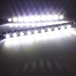 Vattentät Bil DRL Ljus Dimljus 10LED Daylight Kit Vit