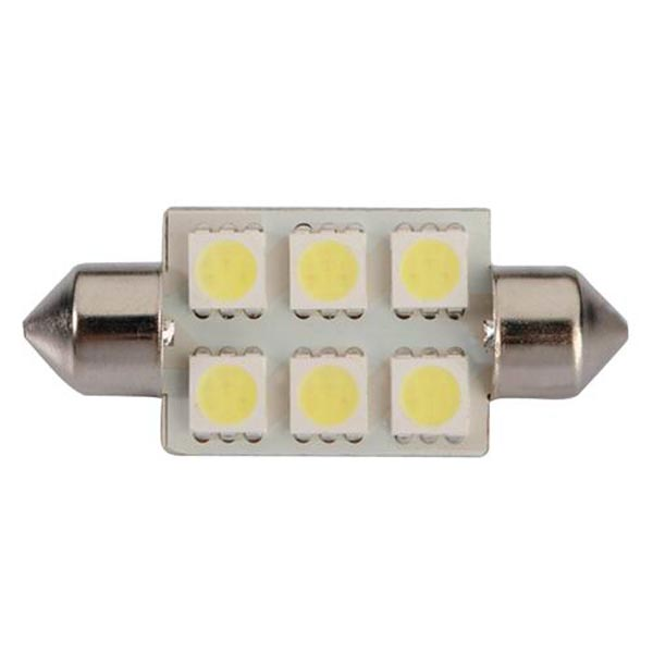 Weiß 39mm 5050 6 SMD LED Girlande C5W Glühlampe Autobeleuchtung
