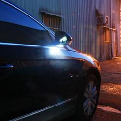 Weiß Unter Seiten Spiegel Pfütze 6 LED Licht Lampe für VW Golf GTi MK6