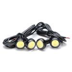 Trådlös Fjärrkontroll LED-varselljus 4 In 1 Super Strobe Bilbelysning