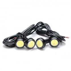 Wireless Remote Control LED Daytime Running Lights 4 In 1 Super Strobe