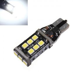 Xenon Hvid T15 / T10 15W LED Bil Backup Reverse Bremse Bulb