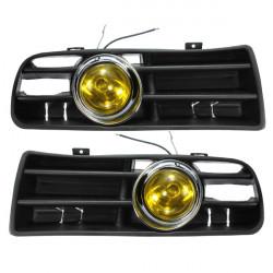 Yellow Front Nebel LED Licht Lampe unteren Kühlergrill für 98 04 VW Golf 4