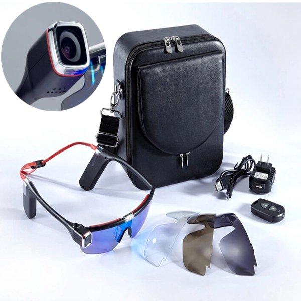1080P G20 12Mpx Wifi Kamera Optager Solbriller til Motorcykel Riding Motorcykel / MC