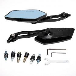 10mm Chopper Dirt Bike Motorcycle Rear Side Mirror For KOSO