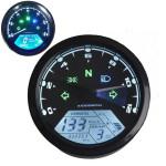 12000RMP LCD Digital Speedometer Odometer Motorcycle 1-4 Cylinders Motorcycle