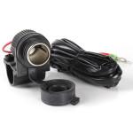120W Motorcykel Cigarettænder Power Adapter Socket Oplader Outlet Motorcykel / MC