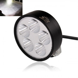 12V-80V Motorcycle Led Condenser Super-bright Headlight