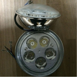 12V 25W 1200LM weiße Motorrad Roller LED Scheinwerfer Lampen