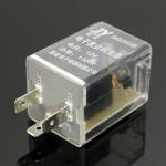 12V 3 Pin LED Signal indicatior helle elektronische Blinkrelais Schalten Motorrad