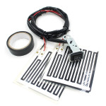12V ATV Motorcycle Heated Grips Inserts Handlebar Hand Warmers Motorcycle