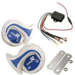 12V Electronic Digital Fordon Off Road Siren Högt Signalhorn 18 Ljud Motorcykel
