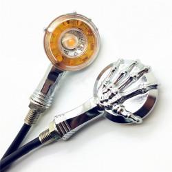 12V Motorcycle 10 LED Turn Signal Light Indicators For Honda Suzuki