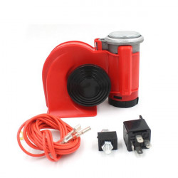 12V Motorcycle Compact Dual Tone Snail Air Horn