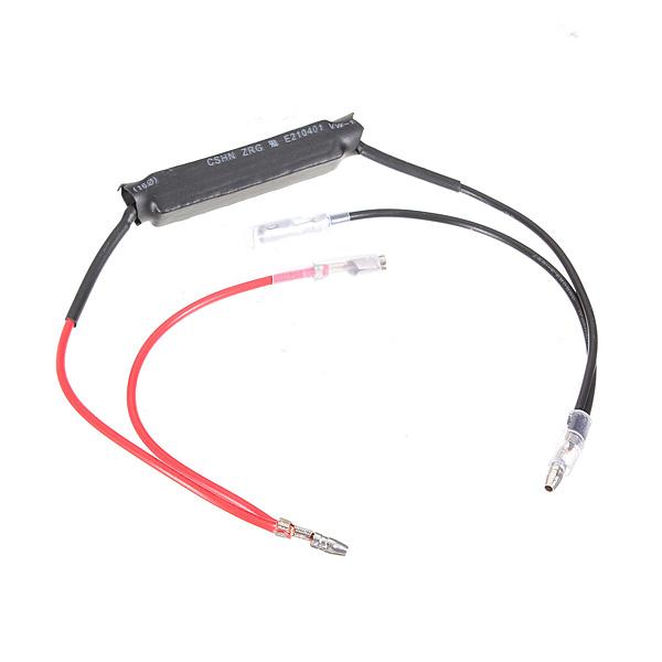 12V Motorcykel Flasher LED Blinkersreglage Motstånd Adapter Motorcykel